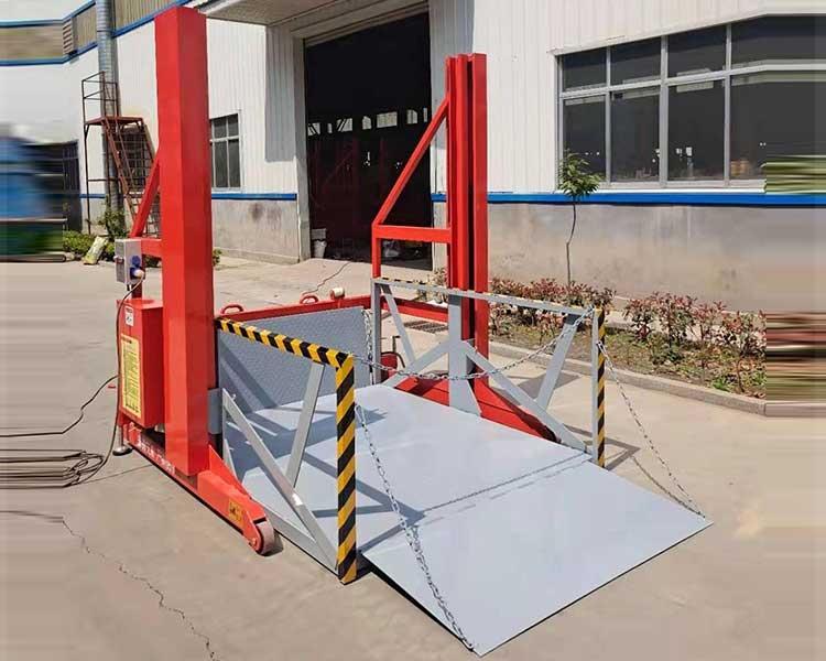 卸货平台升降机